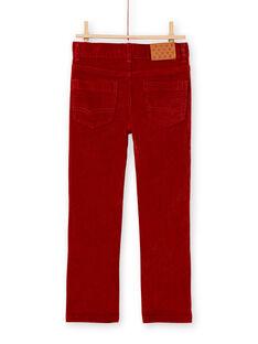 Red PANTS KOJOPAVEL6 / 20W90243D2BF519