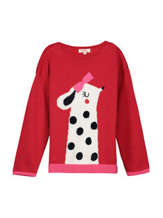 Red Pullover FACOPULL1 / 19S90181PUL050