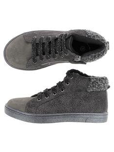 Grey Sneakers DFBASMID / 18WK35TCD3F940