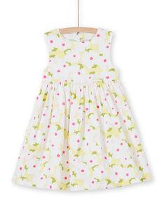 White DRESS LAJAUROB1 / 21S901O4ROB000