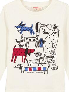 Dark off white T-shirt GOTRITEE4 / 19W902J4TML003