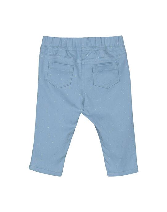 Navy pants FIJOPAN2 / 19SG0933PAN721