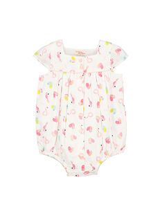 Baby girls' romper FICUBAR / 19SG09N1BAR000