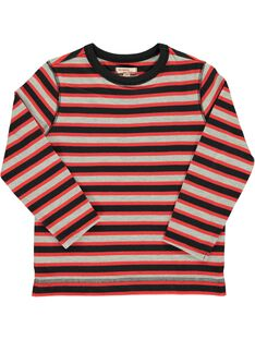 Boy's striped T-shirt DOROUTEE6 / 18W90226TML099