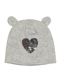 Girls' sequin hat FYALIBON / 19SI0122BON943