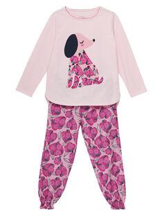 Pale rose Pajamas JEFAPYJCHIEN / 20SH1121PYJ301