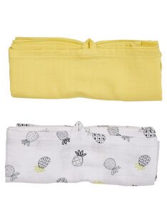 Yellow swaddling clothes JOU2LAN / 20SF42M1LAN010