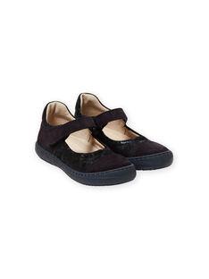 Child girl velvet pumps MABABYMATER / 21XK3551D13070