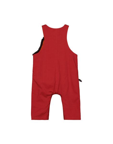Baby boys' dungarees FUBASAL / 19SG1061SALF509