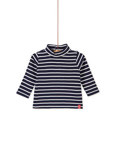 Navy ROLL-NECK KUJOSOUP2 / 20WG1043SPLC205