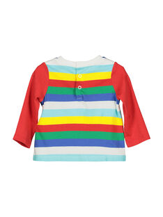 Baby boys' long-sleeved T-shirt FUCOTEE1 / 19SG1081TML099