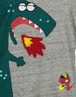 Boys' long-sleeved printed T-shirt GOVETEE / 19W90221TML927