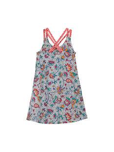 Multicolor Dress FATOROB1 / 19S901L1ROB099
