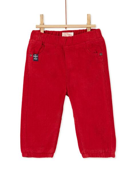 Red PANTS KUJOPAN3 / 20WG1053PANF528