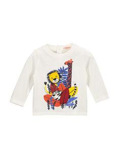Baby boys' long-sleeved T-shirt FUBATEE1 / 19SG1061TML001