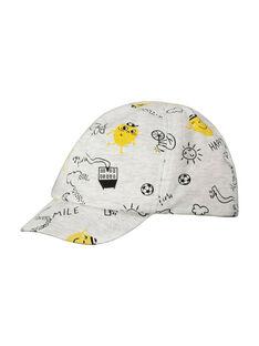 Baby boys' cotton cap FYULICASQ / 19SI1021CHA099