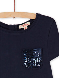 Skating dress in milano bicolor LAJOROB2 / 21S90134D2FC205