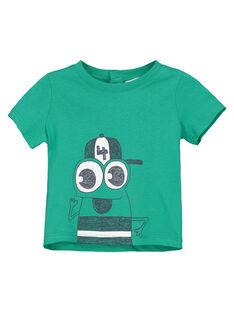 Green T-shirt FUJOTI6 / 19SG10G1TMCG619