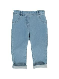 Baby girls' jeans CIJOPAN1 / 18SG09R1JEA721