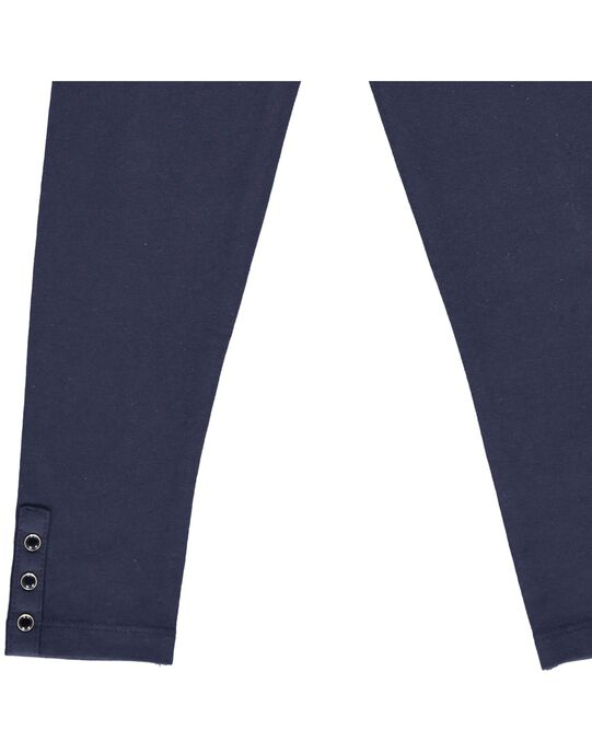 Girls' plain leggings CYAJOLEG1 / 18SI01R1D26070