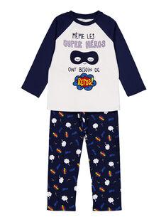 White Pajamas GEGOPYJERO / 19WH1252PYJ000