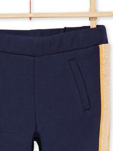 Girl's night blue striped pants MAJOMIL1 / 21W90117PANC205