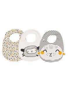 Pack of unisex babies' bibs GOU1BAV / 19WF4211BAV001