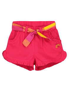 Baby girls' fancy shorts FIYESHO2 / 19SG09M2SHO304