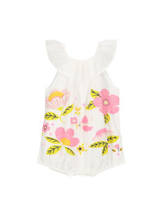 Baby girls' romper FIPOBAR / 19SG09C1BAR000