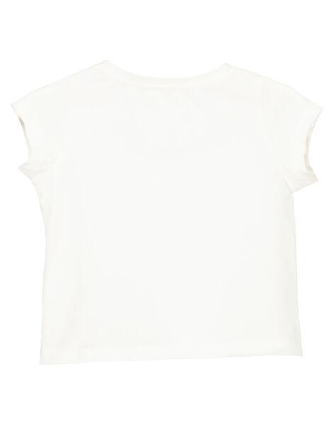 Baby girls' short-sleeved T-shirt FIJOTI1 / 19SG0931TMC001