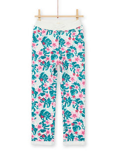Jogging bottoms, Hawaiian flower print LAJOBAJOG2 / 21S90142D2A001