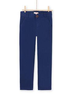 Baby boy navy blue pants MOESPACHI1 / 21W902E2PAN070