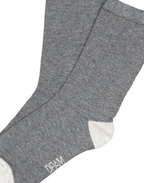 Dark grey Socks GYOESCHO4 / 19WI02U8SOQ944