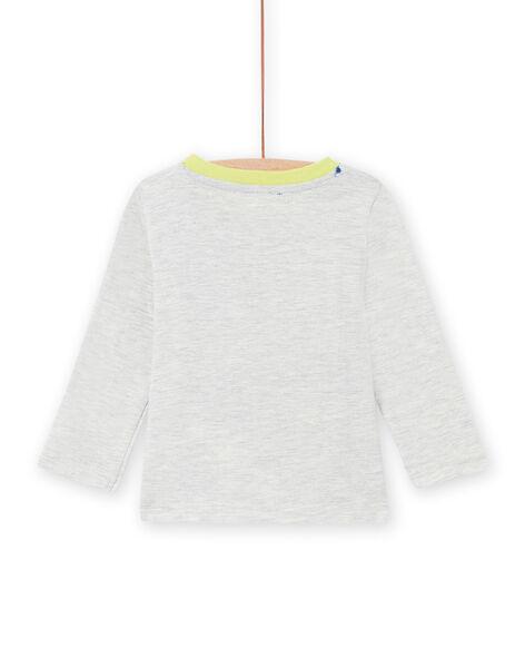 Baby boy long sleeve tiger print t-shirt MUKATEE1 / 21WG10I2TML006