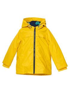 Light yellow Rain coat JOGROIMP / 20S902I1IMPB116