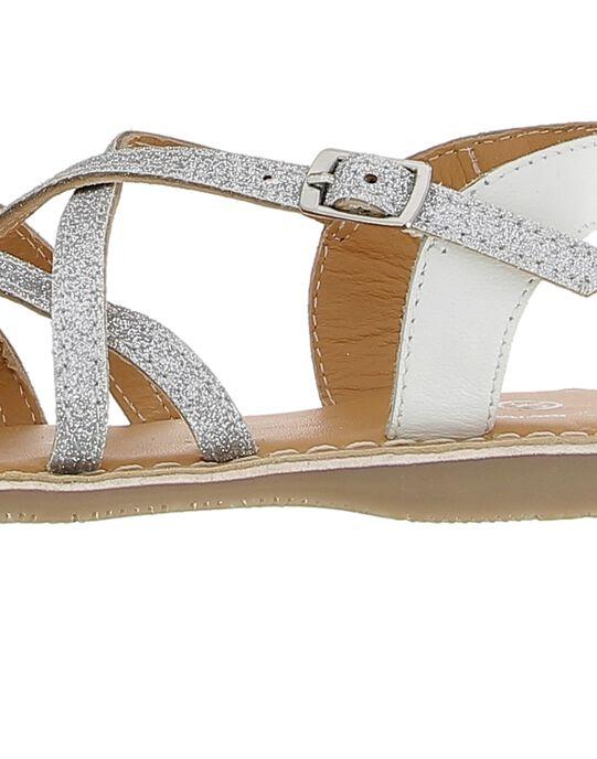 Girls' leather sandals CFSANDARG / 18SK35WLD0E956