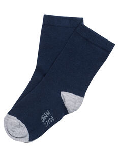 Navy Socks JYOESCHO3 / 20SI0265SOQ070