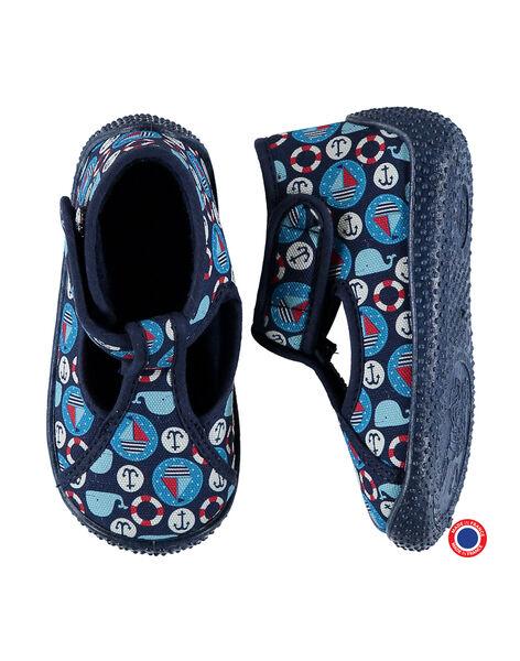 Baby boys? T-bar slippers FBGSALMAR / 19SK3843D0A070