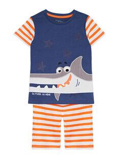 Greyish blue Pajamas JEGOPYCREQ / 20SH1229PYJ205
