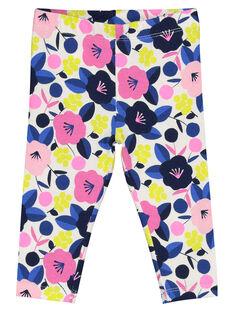 Baby girls' printed leggings GYIBLELEG / 19WI0991CAL000