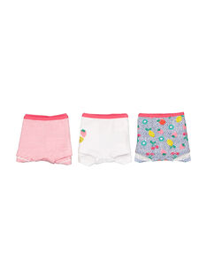 Pack of girls' shorties FEFAHOTFRU / 19SH11I3SHY099