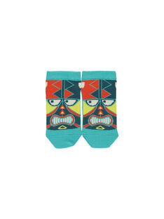 Boys' ankle socks FYOCUCHO / 19SI02N1SOQ202