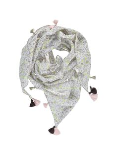 Girls' triangular scarf CYACEFOUL / 18SI01M1FOU099