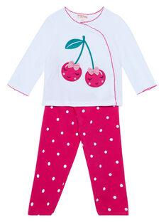 White Pajamas JEFIPYJCER / 20SH1321PYJ000
