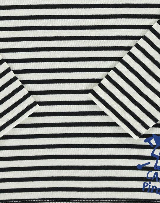 Boys' long-sleeved T-shirt COBENTEE1 / 18S902G1TML001