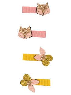Set of girls' hair clips GYAJAUCLIC1 / 19WI017BBRTK008