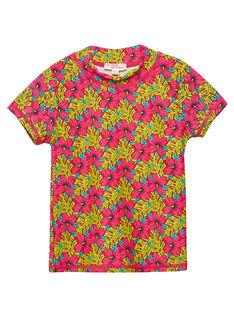 Red Anti-UV T-Shirt JYAMERUV / 20SI01K1TUVF510