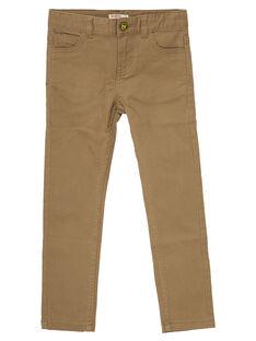 Brown pants JOTROPAN / 20S902F1PANI815
