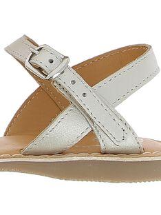 Girls' leather sandals CFSANDTRES / 18SK35W5D0E000