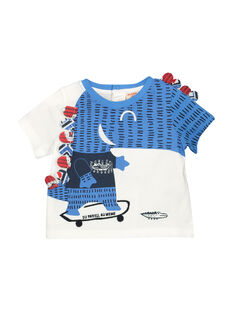 Baby boys' short-sleeved T-shirt FUTOTI2 / 19SG10L2TMC000